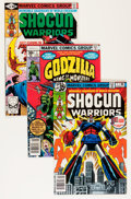 Bronze Age (1970-1979):Science Fiction, Godzilla/Shogun Warriors Group (Marvel, 1977-80).... (Total: 40 Comic Books)