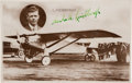 Autographs:Celebrities, Charles Lindbergh Real Photo Postcard Signed...