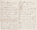 Autographs:Military Figures, Joshua Lawrence Chamberlain Autograph Letter Signed...