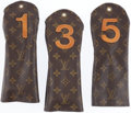 Luxury Accessories:Accessories, Set of Three; Louis Vuitton Classic Monogram Canvas Golf HeadCovers. ... (Total: 3 Items)