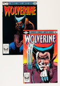 Modern Age (1980-Present):Superhero, Wolverine Limited Series #1 and 3 Group (Marvel, 1982) Condition:Average NM-.... (Total: 8 Comic Books)