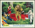 "Movie Posters:Fantasy, The Wizard of Oz (MGM, R-1949). Lobby Card (11"" X 14"").. ..."