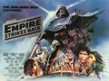 """Movie Posters:Science Fiction, The Empire Strikes Back (20th Century Fox, 1980). British Quad (30"""" X 40"""") Style B. From the collection of the late John L..."""