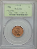 Indian Cents: , 1909 1C MS63 Red PCGS. PCGS Population (207/1698). NGC Census:(50/598). Mintage: 14,370,645. Numismedia Wsl. Price for pro...