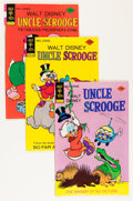 Bronze Age (1970-1979):Cartoon Character, Uncle Scrooge Group (Gold Key, 1975-79) Condition: Average VF....(Total: 49 Comic Books)
