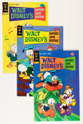 Bronze Age (1970-1979):Cartoon Character, Walt Disney's Comics and Stories Group (Gold Key, 1975-76)Condition: Average VF+.... (Total: 73 Comic Books)
