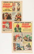 Golden Age (1938-1955):Science Fiction, Flash Gordon Comics (Gordon Bread Promotional) #1 and 2 Group(Harvey, 1951) Condition: Average VF.... (Total: 22 Comic Books)