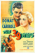 "Movie Posters:Hitchcock, The 39 Steps (Gaumont, 1935). One Sheet (27"" X 41"").. ..."