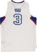 Basketball Collectibles:Uniforms, Chris Paul Signed Los Angeles Clippers Jersey....