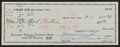 Football Collectibles:Others, 1960 Vince Lombardi Signed Green Bay Packers Check....