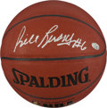 Basketball Collectibles:Balls, Bill Russell Signed Basketball PSA Gem Mint 10....