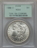 Morgan Dollars: , 1900-O $1 MS64 PCGS. PCGS Population (16145/6741). NGC Census:(18163/7587). Mintage: 12,590,000. Numismedia Wsl. Price for...