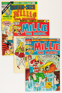 Millie the Model Group - Savannah pedigree (Marvel, 1973-74) Condition: Average VF/NM.... (Total: 8 Comic Books)