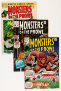 Bronze Age (1970-1979):Horror, Monsters on the Prowl Group - Savannah pedigree (Marvel, 1971-74)Condition: Average VF+.... (Total: 18 Comic Books)