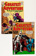 Silver Age (1956-1969):Adventure, My Greatest Adventure #55 and 66 Group - Savannah pedigree (DC, 1961-62) Condition: Average VF/NM.... (Total: 2 Comic Books)