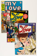 Silver Age (1956-1969):Romance, My Love Group - Savannah pedigree (Marvel, 1970-74) Condition:Average VF/NM.... (Total: 10 Comic Books)