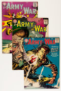Golden Age (1938-1955):War, Our Army at War Group - Savannah pedigree (DC, 1955-58).... (Total:8 Comic Books)