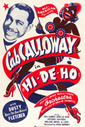 "Movie Posters:Black Films, Hi-De-Ho (All-American, 1947). One Sheet (27"" X 41"").. ..."