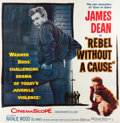 "Movie Posters:Drama, Rebel without a Cause (Warner Brothers, 1955). Six Sheet (79.5"" X80.75"").. ..."