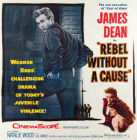 "Rebel without a Cause (Warner Brothers, 1955). Six Sheet (79.5"" X 80.75"")"