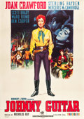 "Movie Posters:Western, Johnny Guitar (Republic, 1954). Italian 4 - Foglio (55"" X 78"")....."