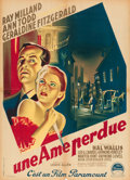 """Movie Posters:Crime, So Evil My Love (Paramount, 1949). Printer's Proof French Affiche (23.5"""" X 31.5"""").. ..."""