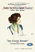 "Movie Posters:Comedy, James Montgomery Flagg's The Good Sport (Perfection Pictures,1918). One Sheet (27"" X 41"").. ..."