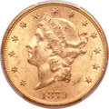 Liberty Double Eagles, 1879-S $20 MS61 PCGS Secure....