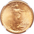 Saint-Gaudens Double Eagles, 1910-S $20 MS65 NGC....