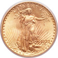 Saint-Gaudens Double Eagles, 1922 $20 MS65 PCGS. CAC....