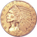 Indian Half Eagles, 1914 $5 MS64 PCGS....