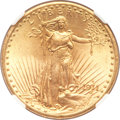 Saint-Gaudens Double Eagles, 1911-D $20 MS66+ NGC. CAC....