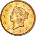 Gold Dollars, 1851 G$1 MS66 PCGS. CAC....