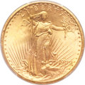 Saint-Gaudens Double Eagles, 1909-S $20 MS65+ PCGS....