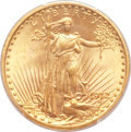 Saint-Gaudens Double Eagles, 1912 $20 MS65 PCGS....