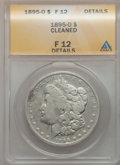Morgan Dollars: , 1895-O $1 -- Cleaned -- ANACS. F12 Details. NGC Census: (100/3833).PCGS Population (163/4324). Mintage: 450,000. Numismedi...
