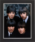 Music Memorabilia:Autographs and Signed Items, Beatles Paul McCartney Signed Group Photo....