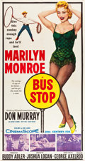 "Movie Posters:Drama, Bus Stop (20th Century Fox, 1956). Three Sheet (41"" X 78"").. ..."