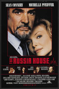 "Movie Posters:Thriller, The Russia House (MGM, 1990). One Sheet (27"" X 41"") SS. Thriller...."