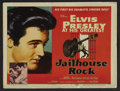 "Movie Posters:Elvis Presley, Jailhouse Rock (MGM, 1957). Title Lobby Card (11"" X 14""). ElvisPresley. ..."
