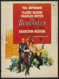 "Movie Posters:Adventure, The Buccaneer Poster Lot (Paramount, 1958). Posters (2) (30"" X40""). Adventure. ..."