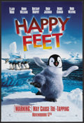 "Movie Posters:Animated, Happy Feet Poster Lot (Warner Brothers, 2006). One Sheets (2) (27""X 40"") DS. Animated. ..."