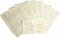 Movie/TV Memorabilia:Autographs and Signed Items, Darryl Zanuck's Love Letters from Bella Darvi. One of the most pitifully grim of all Hollywood tragedies was the scandal and... (Total: 1 Item)