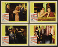 "Movie Posters:Sports, The Hustler (20th Century Fox, 1961). Lobby Cards (4) (11"" X 14""). Drama. ..."