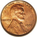 Lincoln Cents: , 1955/55 1C Doubled Die Obverse MS62 Red and Brown PCGS. The 1955 doubled die cent is the most famous of all Lincoln cent va...