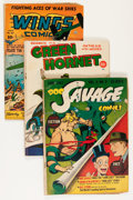 Golden Age (1938-1955):Miscellaneous, Miscellaneous Golden Age Comics Group (Various Publishers, 1940s-50s) Condition: Average GD.... (Total: 13 Comic Books)