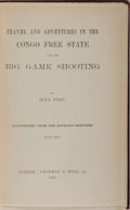 Books:Travels & Voyages, [Henry Bailey] Bula N'zau. Travel and Adventures in the CongoFree State and Its Big Game Shooting. Chapman & Hall, ...