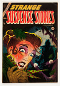 Golden Age (1938-1955):Horror, Strange Suspense Stories #18 (Charlton, 1954) Condition: VG/FN....