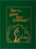 Books:Children's Books, Dr. Seuss. How the Grinch Stole Christmas! Random House,2000. Later gift edition. Light rubbing to slipcase, el...