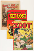 Golden Age (1938-1955):Miscellaneous, Comic Books - Assorted Golden Age Seduction of the Innocent/Parade of Pleasure Comics Group (Various Publishers, 1950s).... (Total: 4 Comic Books)